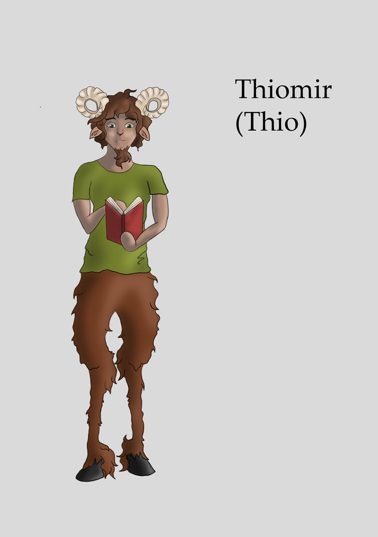 Thiomir the Faun by ChaosYuki