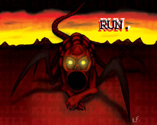 Red - NES Godzilla Creepypasta by Kritter-Feature