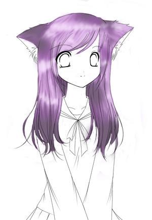 Anime Hair Test Girl by bloodthirsty kitten - Fresh Drawings Of Anime Hair