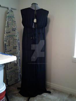 Necromancer Dress Wip Back