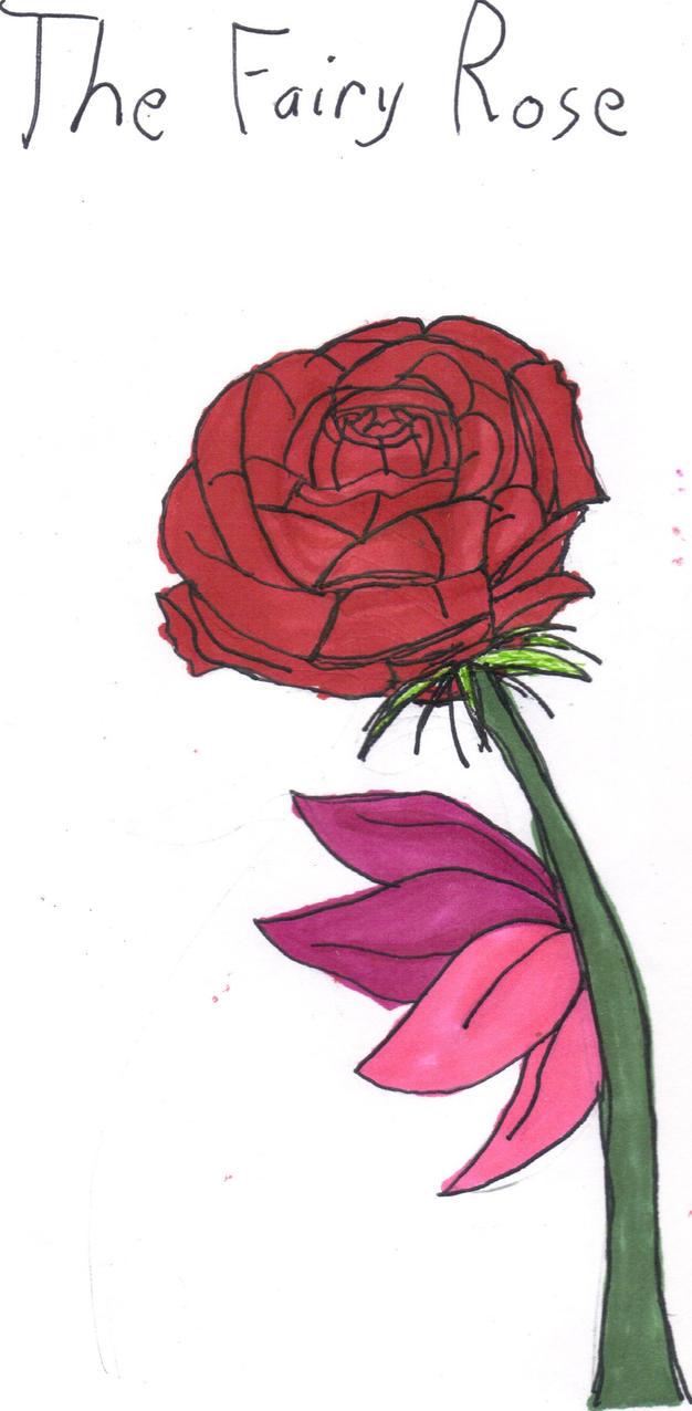 the fairy rose by ladyxchrii on deviantart. Black Bedroom Furniture Sets. Home Design Ideas