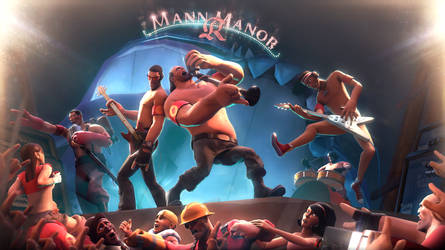 Mann.Co Rockers Festival | Team Fortress 2 by TakeOFFFLy