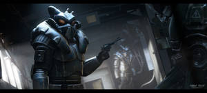 Enclave soldiers   Fallout World