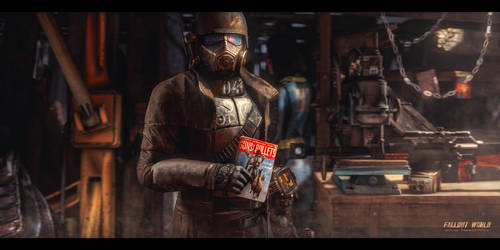 In the vicinity of Lucky 38   Fallout World by TakeOFFFLy