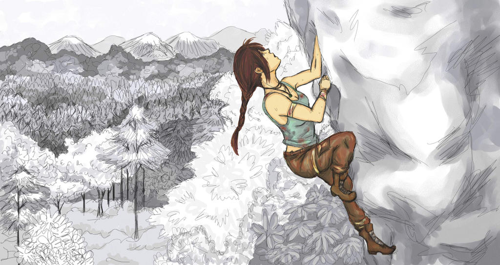 Laura Croft Reborn Contest Entry by StacheRabbit