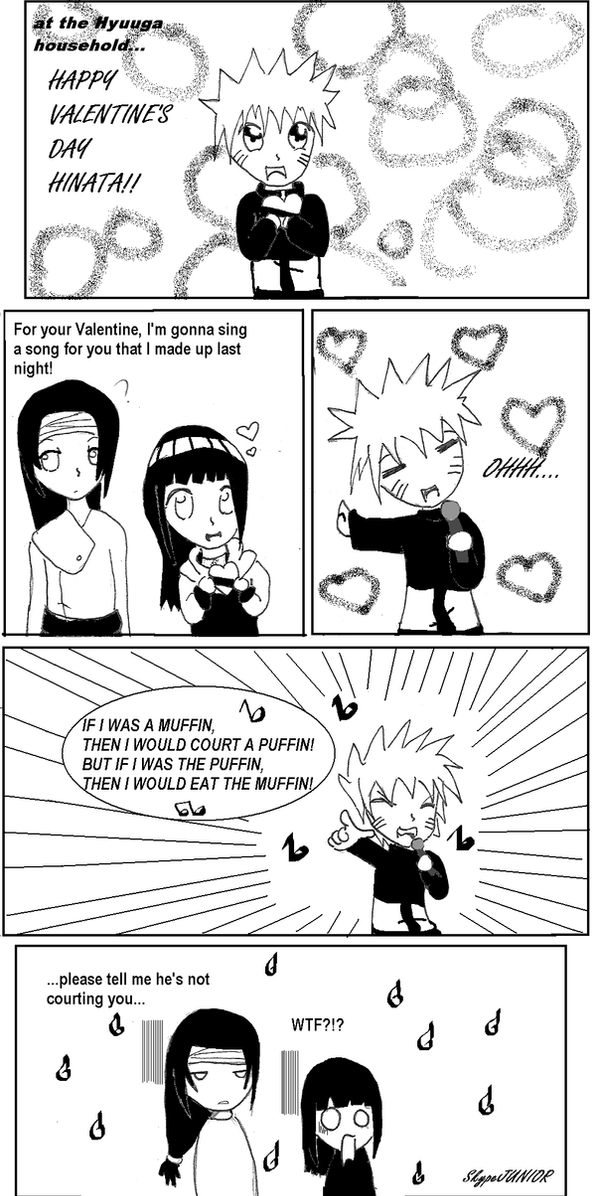 Hinata's Valentine by skypeJUNIOR