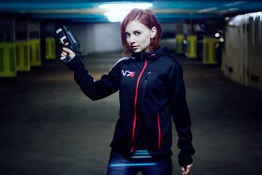 Female Shepard parody by Vjor