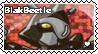 Blakbeetle stamp by Waito-chan