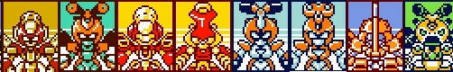 All KBT Male Types Medabots by WaitoChan