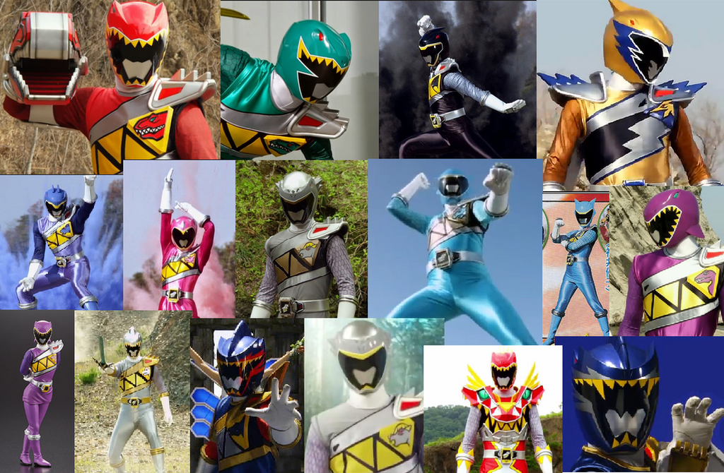 Kyoryuger Collage by Waito-chan on DeviantArt