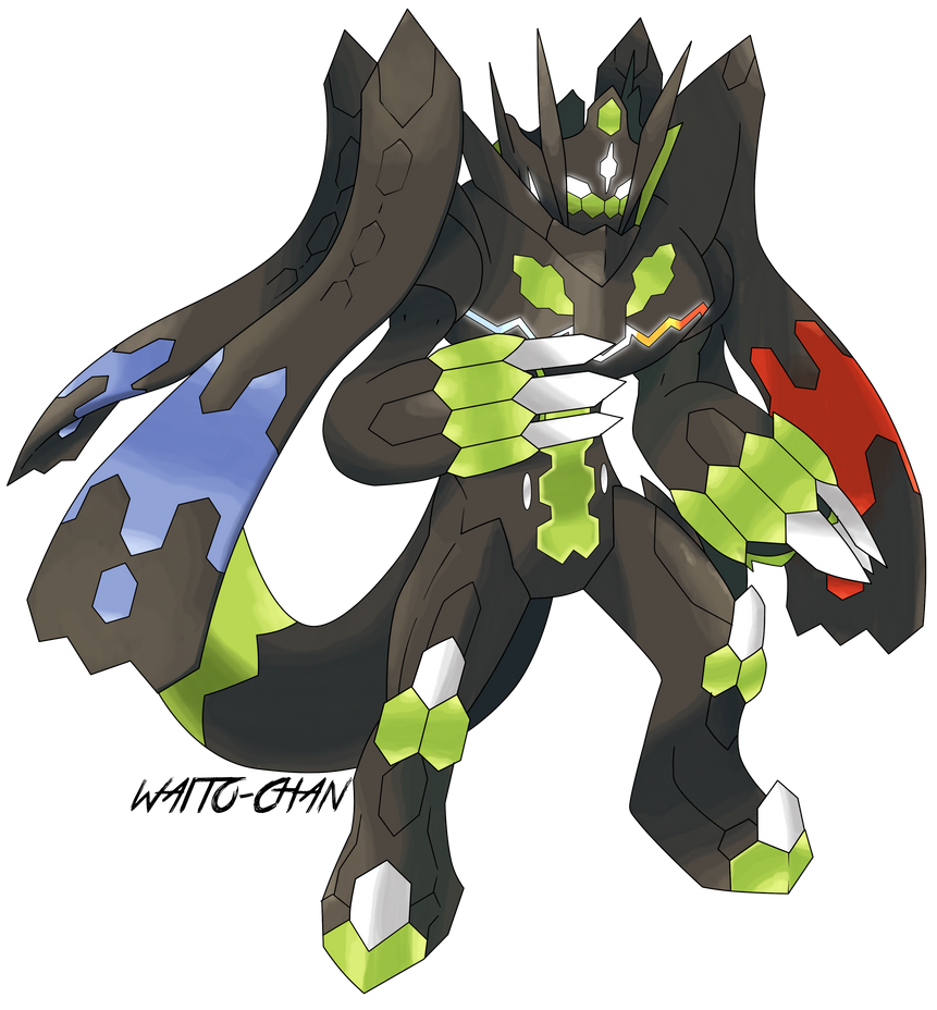 Zygarde Perfecto By Waito-chan On DeviantArt