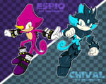 ESPIO AND CHIVAL by WaitoChan