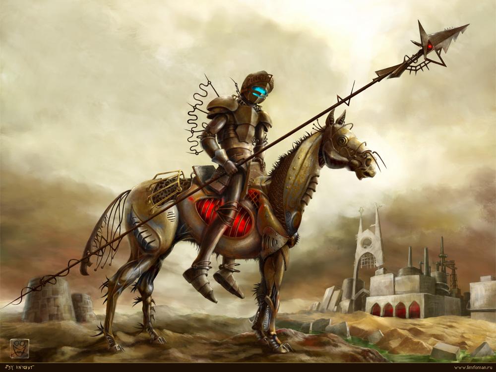 Psy-knight by Limfoman