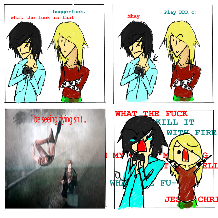 Playing Silent Hill 2... by AssassinInTheShadows