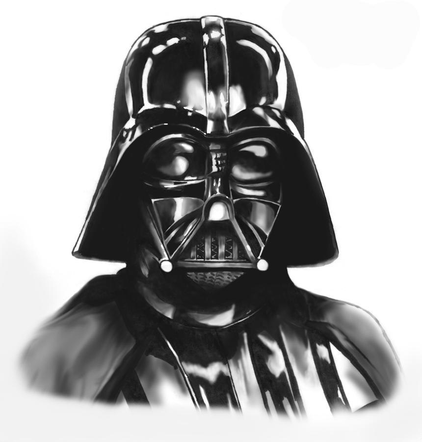 Darth Vader Mask Drawing Darth Vader by erwebb ...