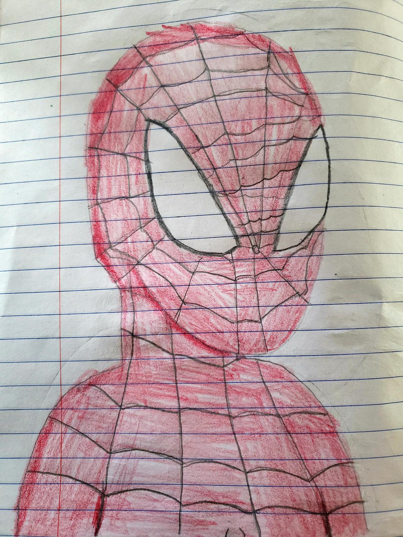 Spiderman Doodle.