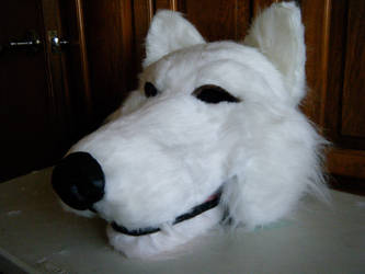 wolf head side view quadsuit by morganwtb11