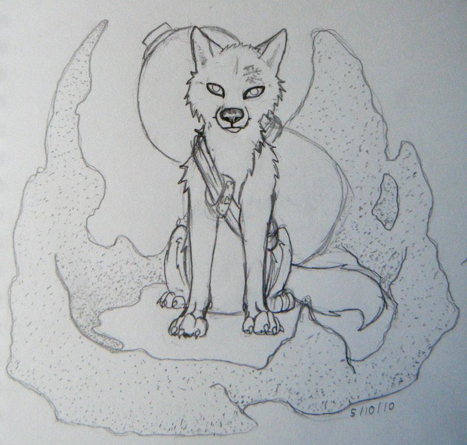 gaara wolf close up by morganwtb11 on DeviantArt Gaara As A Wolf