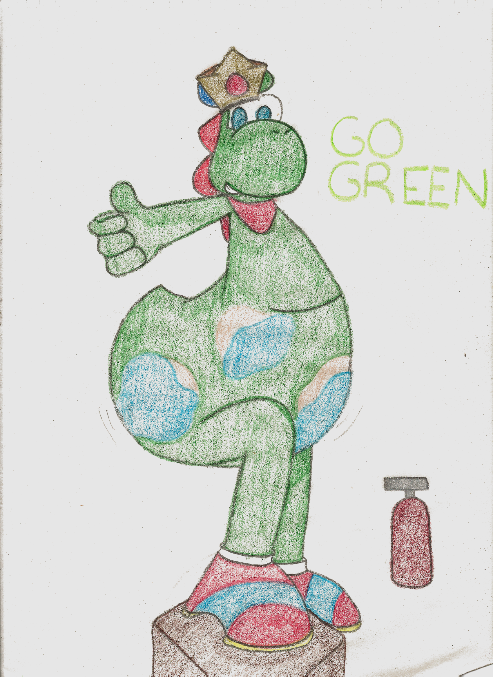 Go Green by iKYLE
