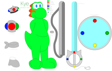 Kye the Yoshi - Version 3.6 (Updated) by iKYLE