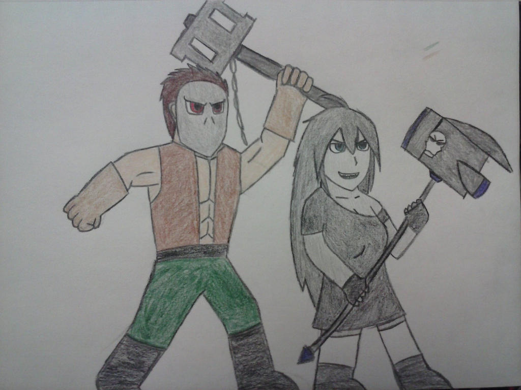 Killers with Hammers by Classic-Dave