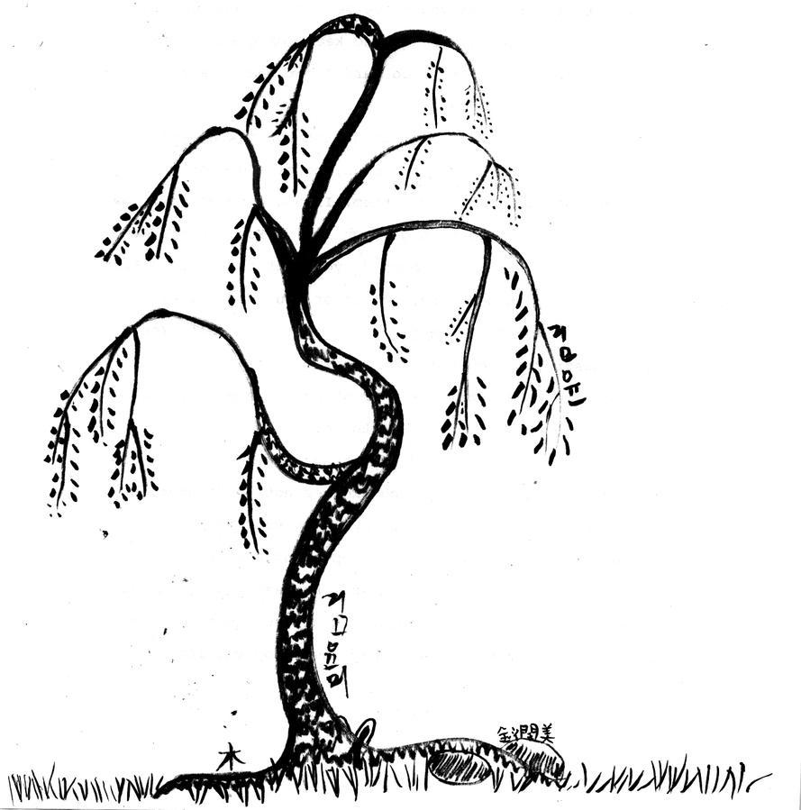 Calligraphy tree by goldsheep on deviantart