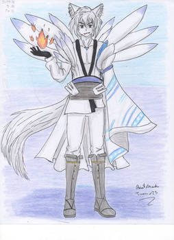 Male kitsune spirit