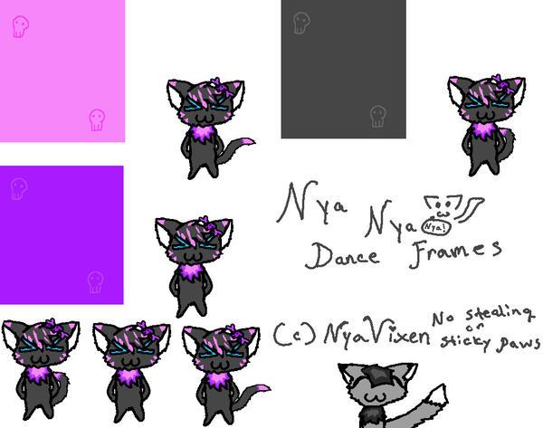 Bubble-Nya Nya Dance Frames by NyaVixen on DeviantArt