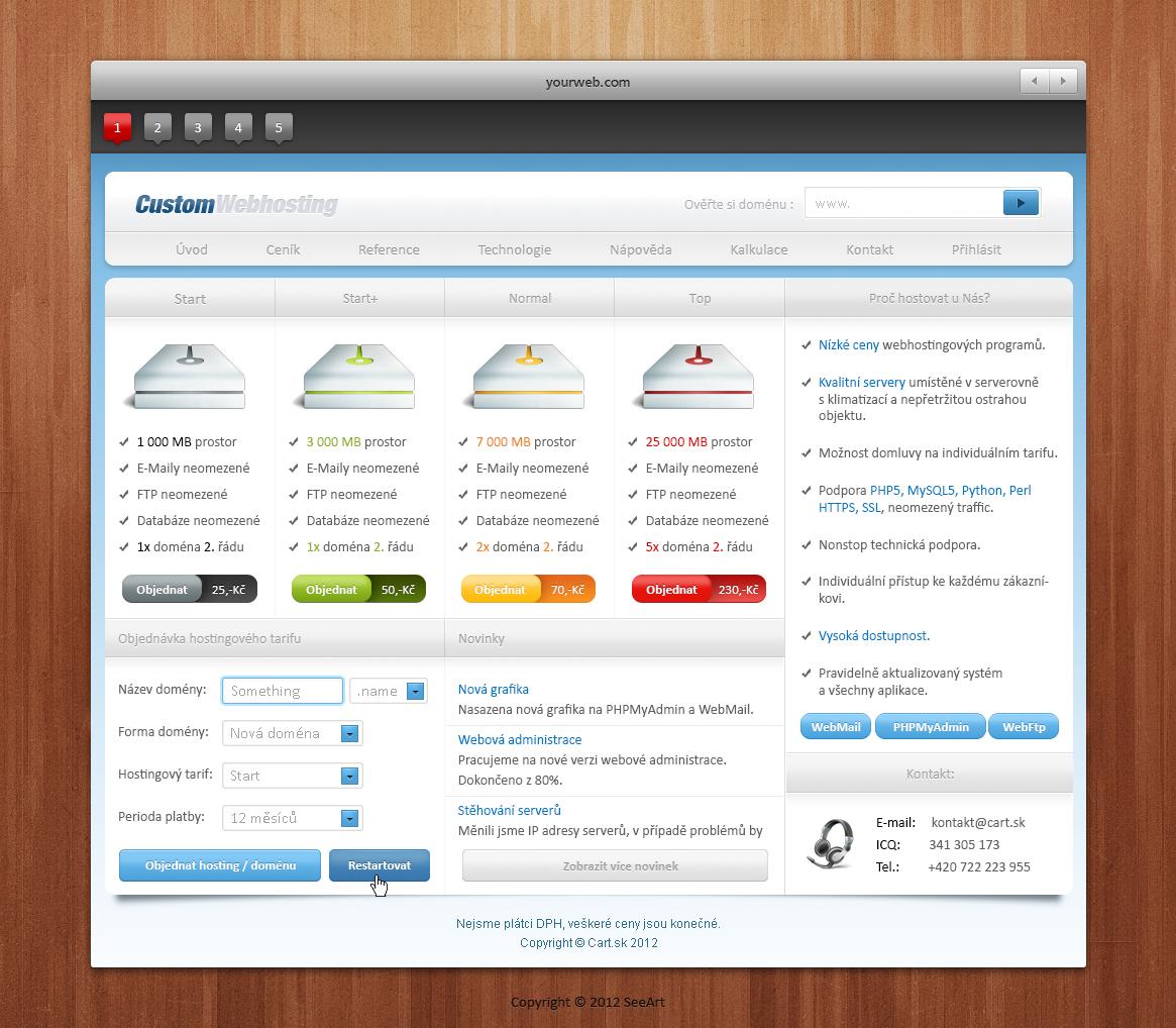 webdesign n3 (for sale) by cartsk