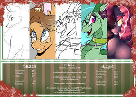 Commission Sheet [OPEN] by Mapleicious