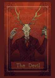 Final Tarot card project- DEVIL by XXXnycmangaluverxxx