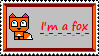 I'm a fox stamp by xxxdarkravenxxx