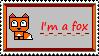 I'm a fox stamp by xxxdarkravenxxx