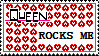 Queen stamp by xxxdarkravenxxx