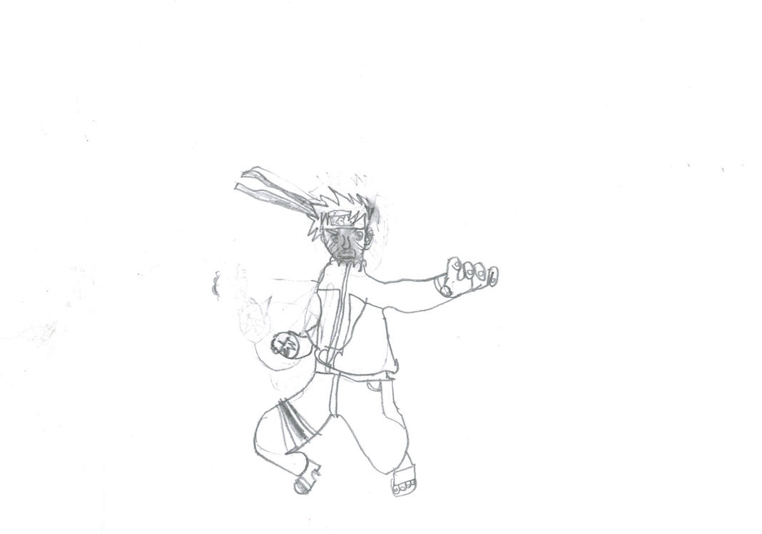 Naruto - Ataque by MiMertens