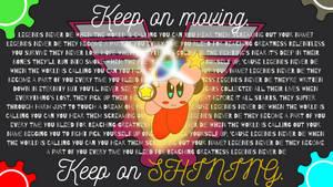 SHINE (Kirby Wallpaper) by NintendoLearner