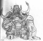 Chaos Dwarf Champion