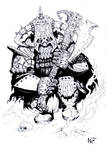 Chaos Dwarf Immortal (2013) by KnightInFlames