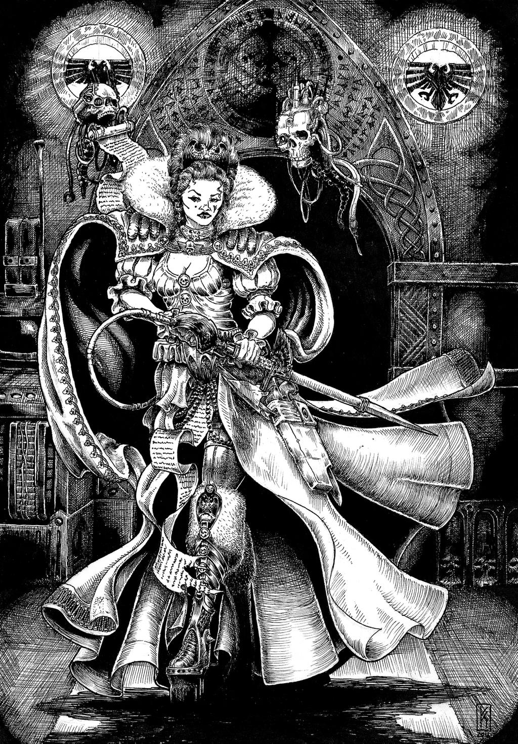 Lady Katherine Serrice Imperial Noble By Knightinflames