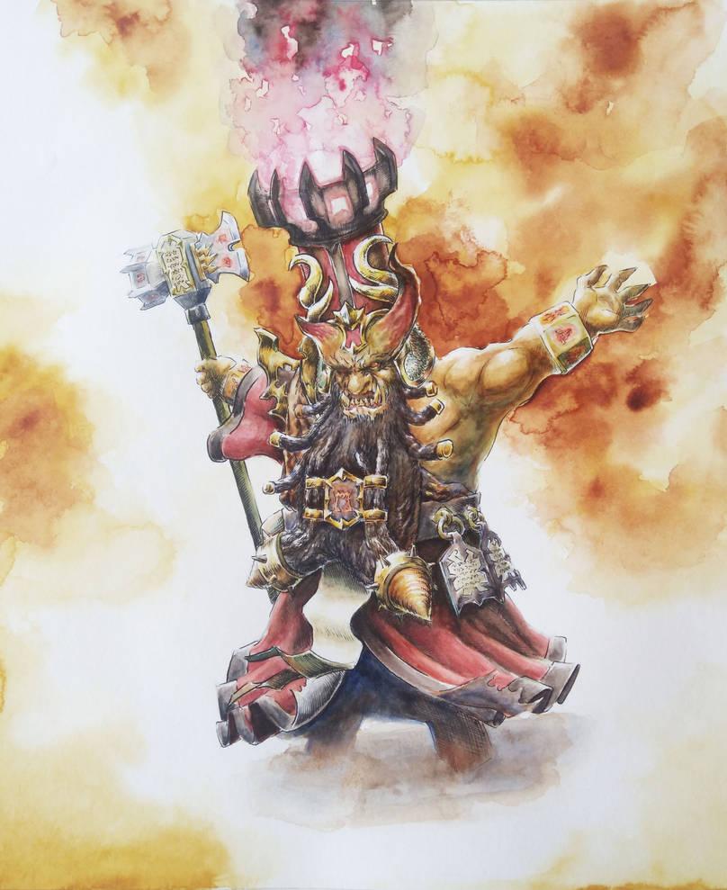 Sorcerer Prophet of Hashut by KnightInFlames