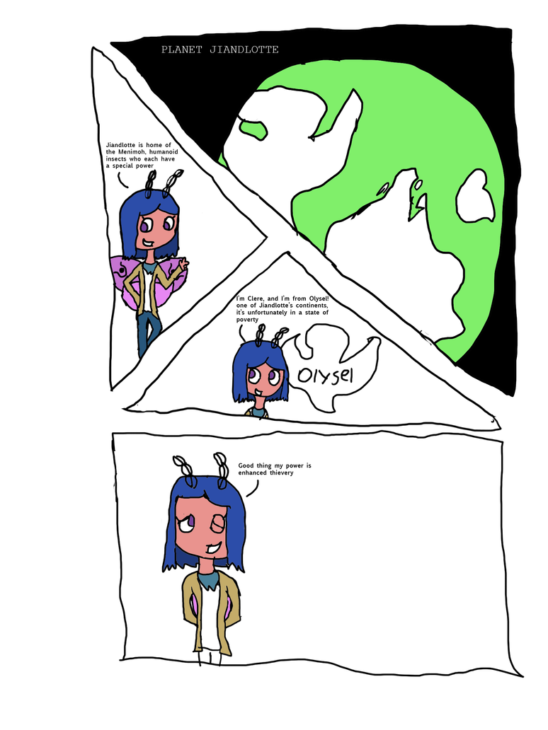 Clere: Page 1 by awsomon