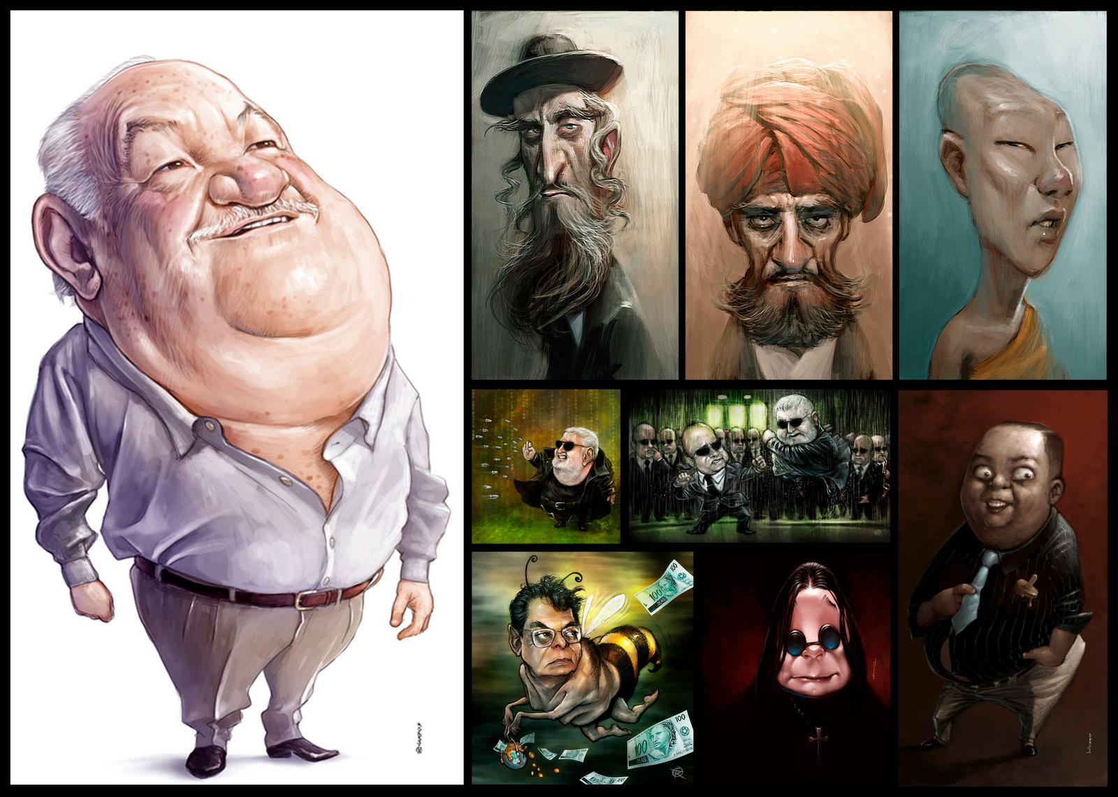 Caricatures by Bpacker