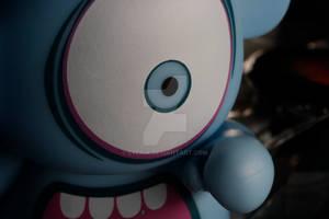 closeup monster