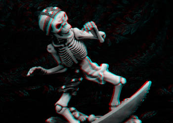 skull by lyenia