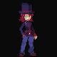 Passerby Boy's Top Hat by VyseRogueKing