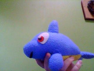#5 Flipper Plushie by bluemousem
