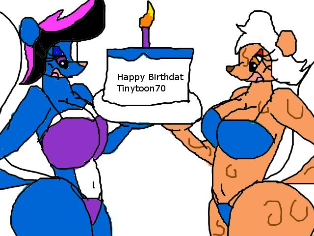 Happy Birthday Tinytoon70  by bluemousem