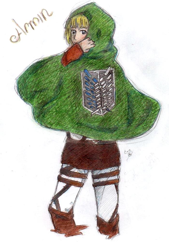 Shingeki no Kyojin: Armin by emute777