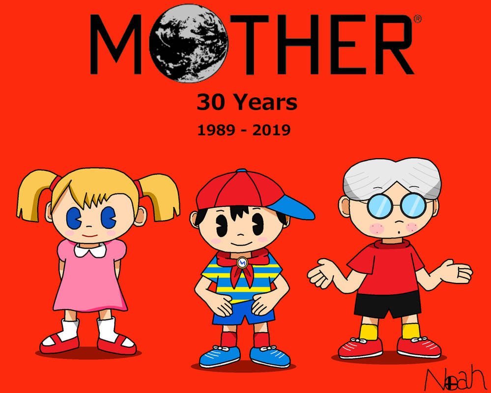 MOTHER 30th Anniversary by DreamingWizard2000 on DeviantArt