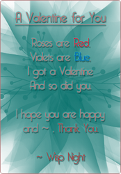 A Valentine for You